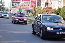 Už nyní je zatížení dopravou v této části Přerova značné. Místní se bojí, že to bude ještě horší..