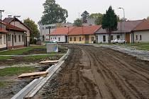 Rekonstrukce Drahotuš má začátkem prosince finišovat