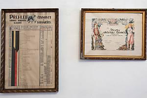 Výstava s názvem Fenomén hasičství v muzeu na Staré radnici v Hranicích.