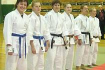 Družstvo žen skončilo na republikovém mistrovství páté.