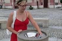 Pítko na hranickém Masarykově náměstí je každou chvíli mimo provoz