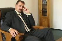 Vladimír Trunda, předseda Okresního fotbalového svazu Prostějov.