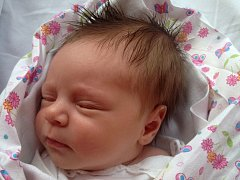 Ema Žeravíková, Ústí, narozena dne 3. března 2015 ve Valašském Meziříčí, míra: 50 cm, váha: 3150 g