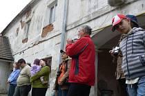 Slavnostní zahájení stavby azylového domu v Drahotuších