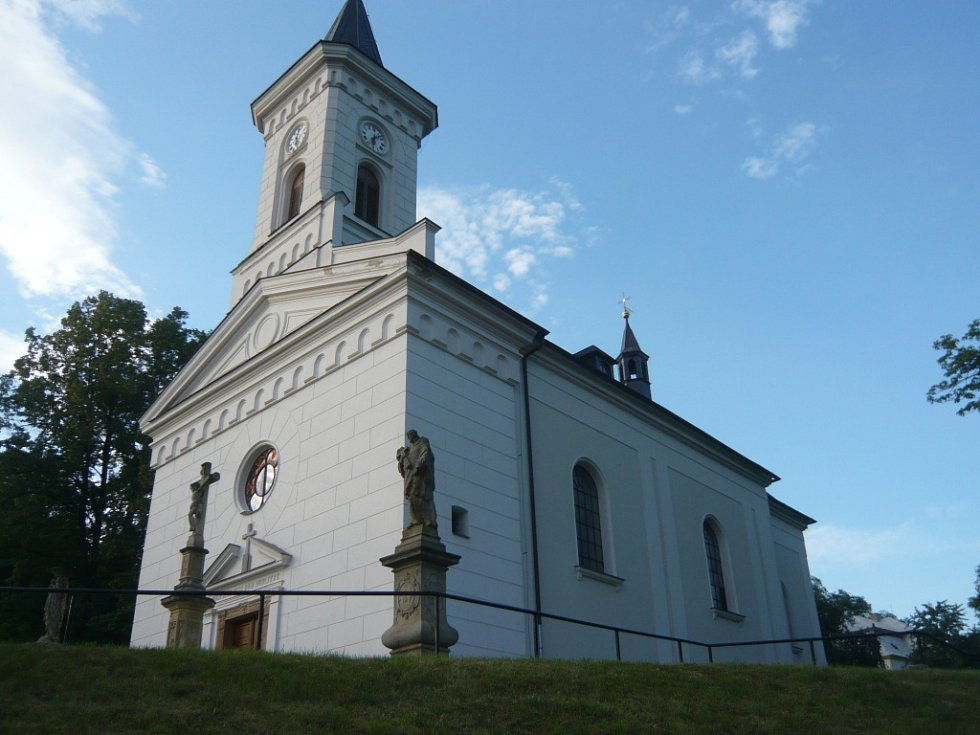 Kostel ve Stříteži