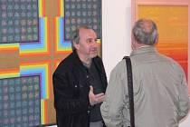 Výstava obrazů Karla Lepíka v hranické synagoze