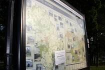Mluvící mapa v Hranicích nemluví už čtvrt roku