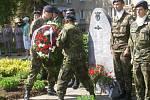 Přerované přišli uctít památku padlým vojákům ve 2. světové válce.