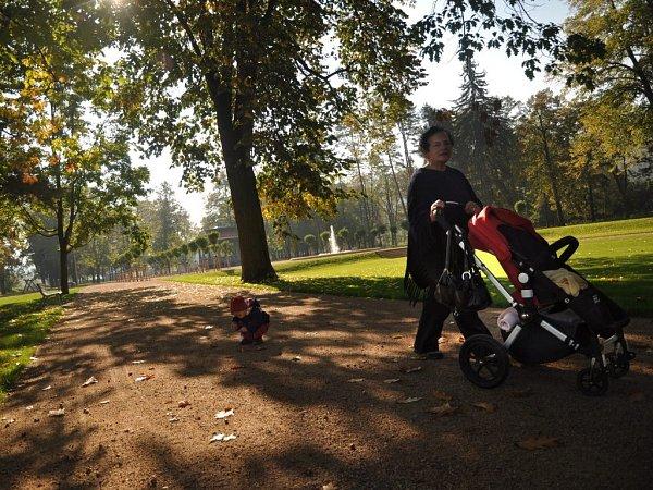Nově zrekonstruovaný hranický park
