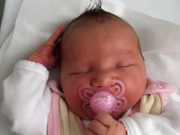 Nikola Janáčková, Kojetín, narozena dne 1. září v Přerově, míra: 53 cm, váha: 4 170 g