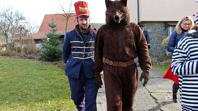 Vodění medvěda ve Skaličce 2020