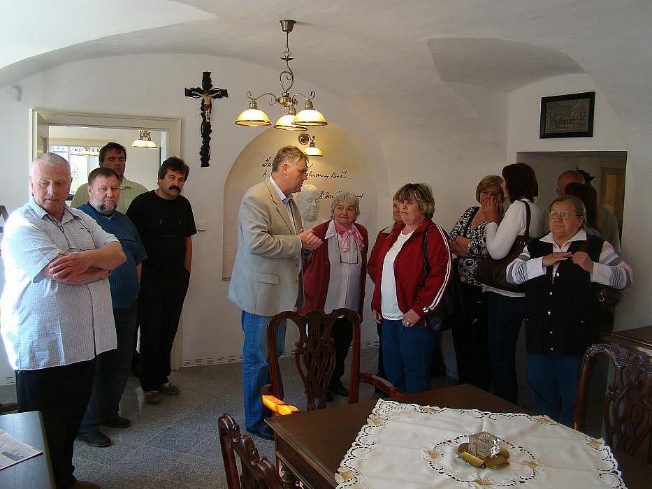 Otevření minimuzea v Bělotíně