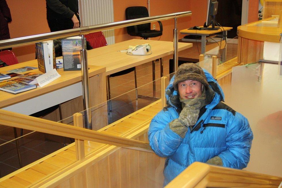 Marek Šimíček po osmihodinovém pobytu v kryokomoře