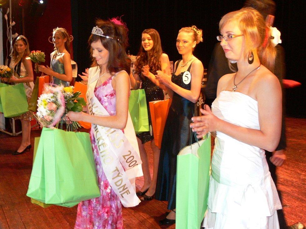 Titul první vicemiss získala dívka s číslem šest Veronika Žaganová.
