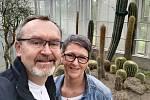 Kaktusy a tilandsie si získaly srdce Karla Machyla zHranic.