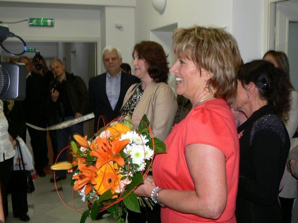 Slavnostního otevření zrekonstruované dětské léčebny Radost v lázních Teplice nad Bečvou