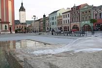 Náměstí v Hranicích na Moravě