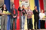 Město Hranice oceňovalo nejlepší sportovce roku 2007