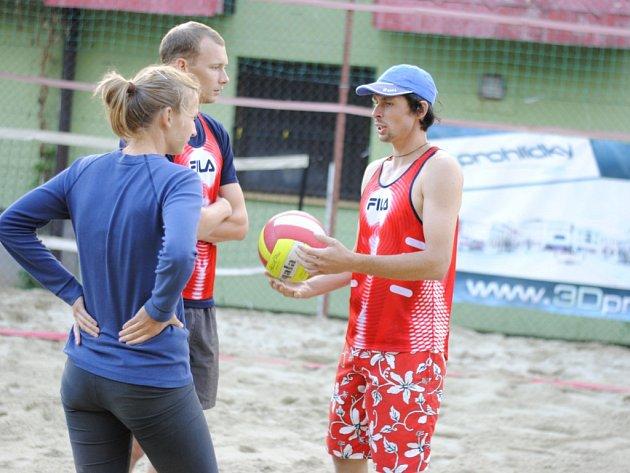 Beachvolejbalový turnaj Switch cup v Drahotuších