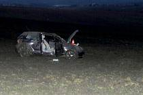 Nehoda mladé řidičky mezi Opatovicemi a Býškovicemi