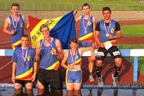 Hranickým atletům se dařilo na mistrovství Moravy v Třinci