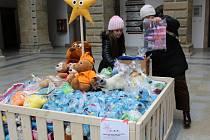 Na dvoraně hranického zámku se konala od pondělí 6. listopadu sbírka s názvem Hvězdičky. Lidé zde nosili hračky pro děti z azylových domů nebo dětských domovů.