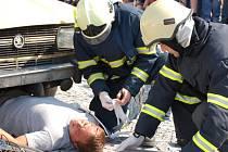 Policisté, strážníci, hasiči a vojáci prezentovali své dovednosti.