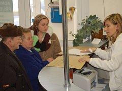 O výběr poplatků se v přerovské nemocnici stará zdravotnický personál.