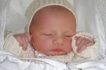 David Václavik, Hranice, narozen 8. 12. 2008 v Přerově, míra 47 cm, váha 1 234 g