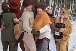 Vodění medvěda má v Olšovci dlouholetou tradici.