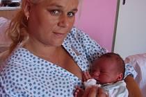Ondřej Skála, Oprostovice, narozen 24. května v Přerově, míra 55 cm, váha 4 200 g