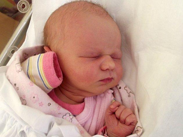 Anita Dvorská, Tršice, narozena dne 8. září 2014 v Přerově, míra: 50 cm, váha: 3 212 g