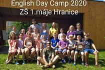 Anglický tábor na Základní škole 1. máje Hranice.