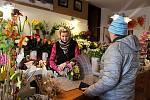 Hranická floristka Olga Němcová