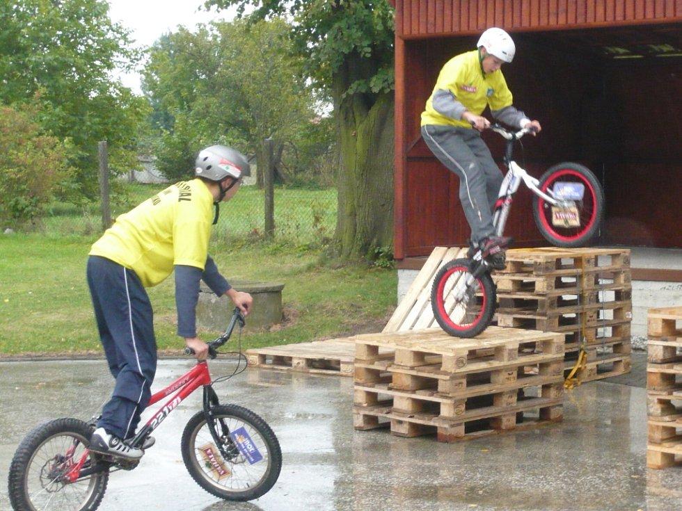 Třetí ročník cyklistické soutěže Mlynářský krajánek zakončili jeho účastníci ve Skaličce.