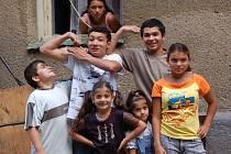 Romské děti v Přerově