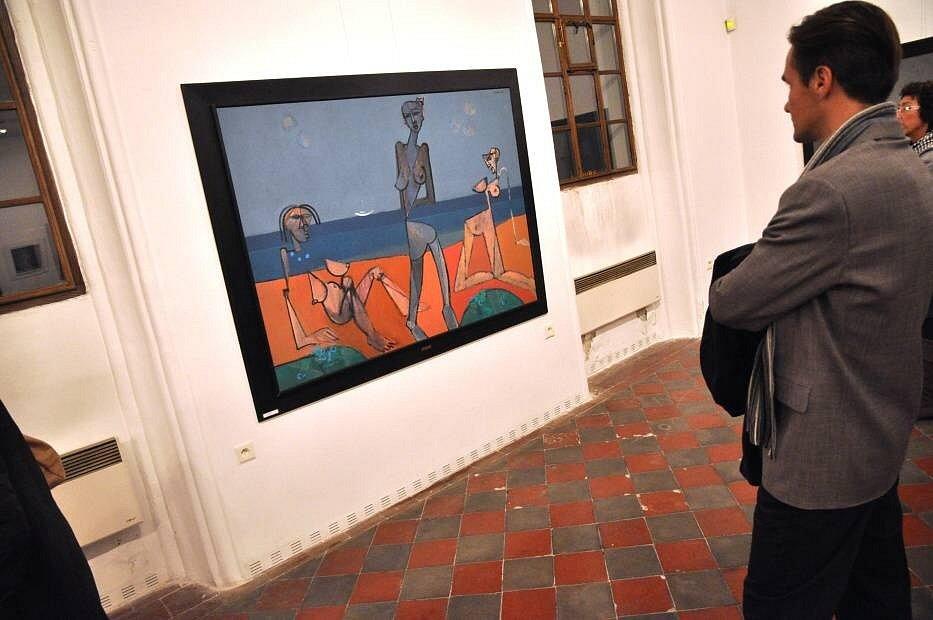 Výtvarník Zdeněk Vacek vystavuje v hranické Synagoze