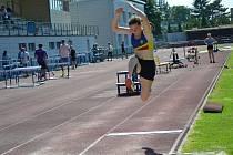 Hranická atletka Kateřina Kasparová reprezentovala oddíl na mládežnickém Mistrovství Moravy a Slezska.
