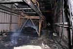 Požár v cementárně