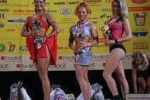 Stupně vítězů: 1. Eva Brnčálová (vlevo), 2. Lenka Bořutová (uprostřed) a 3. Andrea Králová (vpravo).