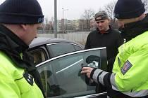 Měření propustnosti autoskel v Hranicích