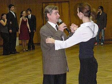 Taneční mistr Vlastimil Tumpach
