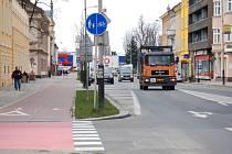 Doprava bude vedena ve dvou směrech a řízena semafory.
