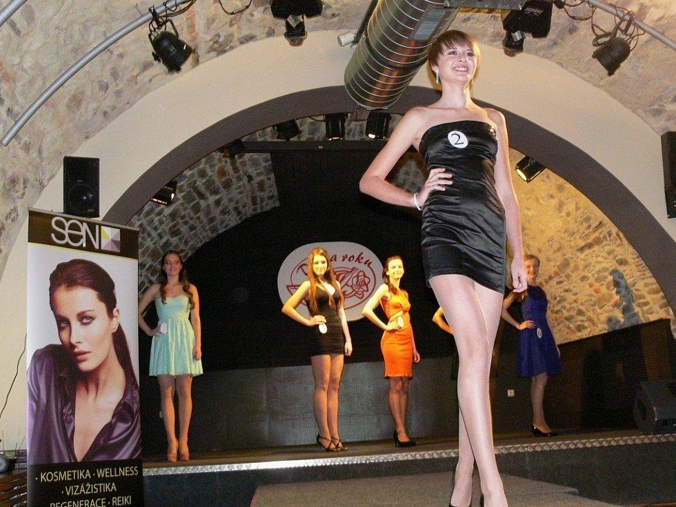 Základní kolo soutěže Dívka roku 2014 v Hranicích.