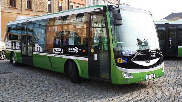 Elektrobus hranické MHD. Ilustrační foto