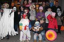 Halloween pro děti v Rakově