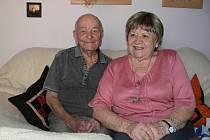 Manželé Závadští společně žijí už 65 let. Ve středu si připomněli významné výročí.