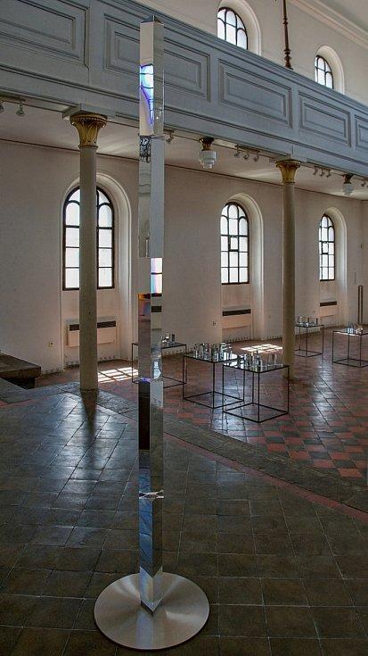 Václav Cigler – Skleněné rozvrhy - výstava Synagoga Hranice.