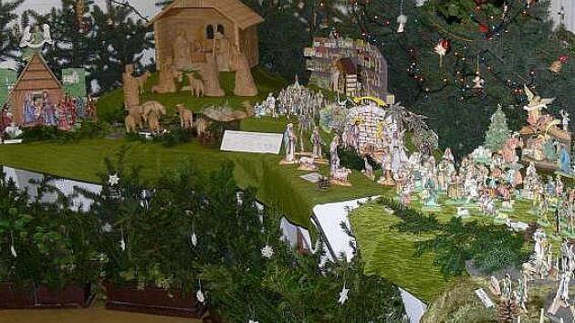 Výstava betlémů v hranické Galerii M+M