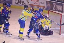 Přerovští hokejisté v neděli 22. února doma podlehli Bobrům z Valašského Meziříčí 1:4.